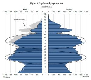 Befolkningspyramid